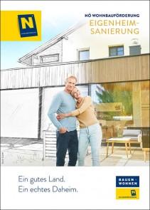 Wohnbauförderung Eigenheimsanierung Broschüre NEU - ab 01.10.2019
