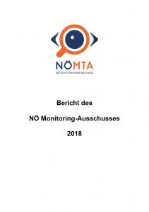 Bericht des NÖ Monitoring-Ausschusses 2018 Broschüre
