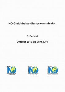 Bericht der NÖ Gleichbehandlungskommission 2010-2016 Broschüre