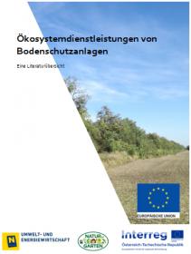 Ökosystemdienstleistungen von Bodenschutzanlagen