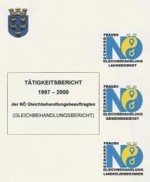 Bericht der NÖ Gleichbehandlungsbeauftragten 1997-2000 Broschüre