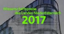 Wissenschaftspreise des Landes Niederösterreich 2017