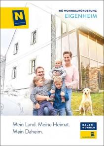 Wohnbauförderung Eigenheim Broschüre NEU - ab 01.10.2019