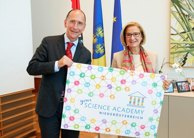 Science Academy NÖ: Start des zweiten Durchgangs des Erfolgsprogramms