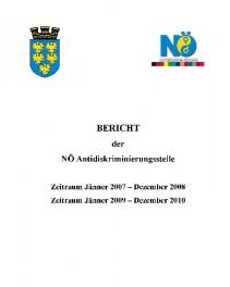 Tätigkeitsbericht der NÖ Antidiskriminierungsstelle 2007-2008 und 2009-2010 Broschüre