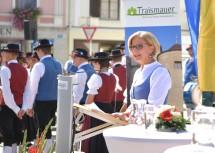 Landeshauptfrau Johanna Mikl-Leitner bei der Festansprache.
