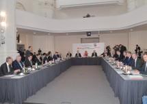 Landeshauptleute-Konferenz unter dem Vorsitz von LH Johanna Mikl-Leitner im FH City Campus in Wiener Neustadt