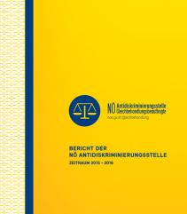 Tätigkeitsbericht der NÖ Antidiskriminierungsstelle 2015-2016 Broschüre