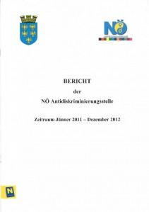 Tätigkeitsbericht der NÖ Antidiskriminierungsstelle 2011-2012 Broschüre