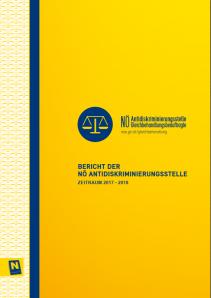 Tätigkeitsbericht der NÖ Antidiskriminierungsstelle 2017-2018 Broschüre
