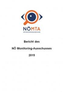 Bericht des NÖ Monitoring-Ausschusses 2015 Broschüre