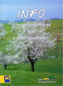Schnitt und Pflege von Obstbäumen Broschüre