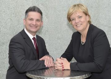Rasche Entscheidung für Heizkostenzuschuss: die beiden für den Sozialbereich zuständigen Landesräte Ing. Maurice Androsch und Mag. Barbara Schwarz. (v.l.n.r.)