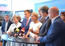 Pressekonferenz in den Räumlichkeiten der Firma Inku in Wiener Neudorf.