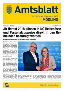 Amtsblatt BH Mödling