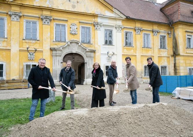 Start der baulichen Maßnahmen zur NÖ Landesausstellung 2022