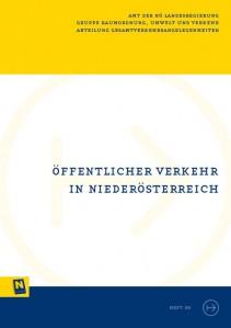 NÖ Landesverkehrskonzept, Heft 30; Öffentlicher Verkehr in Niederösterreich - Broschüre