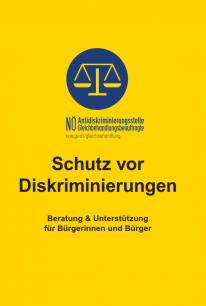 Folder Schutz vor Diskriminierung